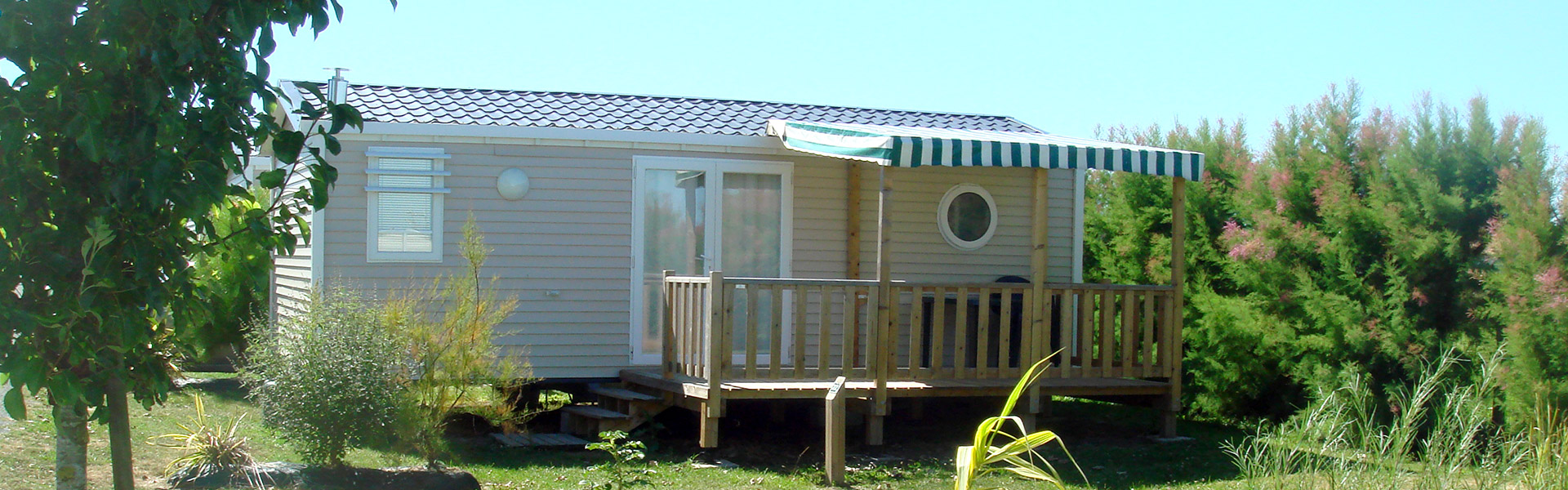 location mobil-home Vendée