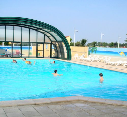 La TranchesurMer Campsite With Covered Pool GrandR Campsite In - Camping la tranche sur mer avec piscine